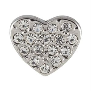 Picture of Crystal Heart Charm